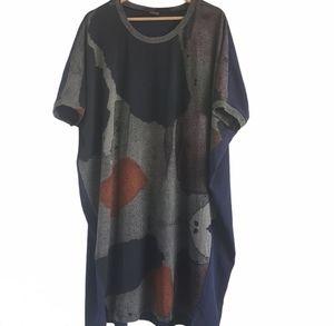 Crea Concept Dress Abstract Art Print Size 40